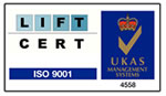 Lift Certification ISO 2001